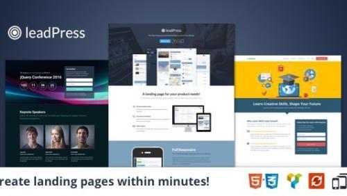 leadPress - Landing Page Theme