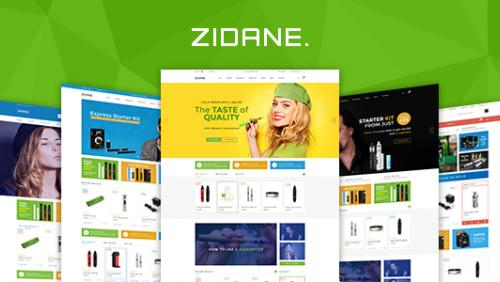 Zidane - Multi Concept Responsive Woocommerce Wordpress Theme