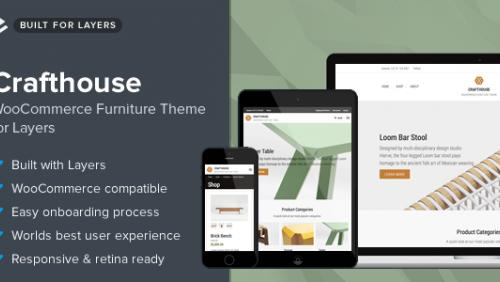 Crafthouse - WooCommerce Furniture Theme