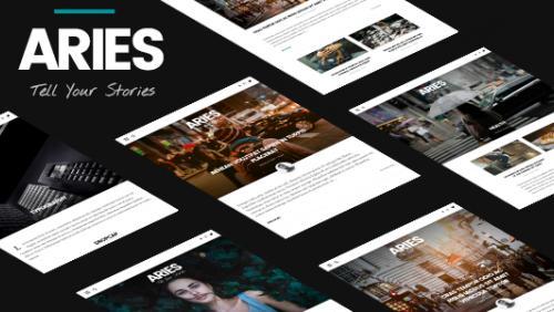 ARIES | Responsive Blog WordPress Theme