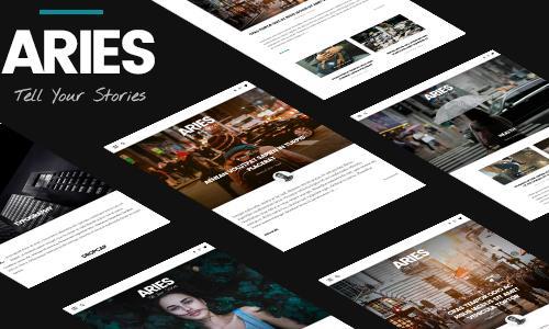 ARIES | Responsive Blog WordPress ...