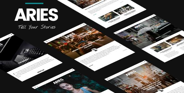 ARIES | Responsive Blog WordPress Theme