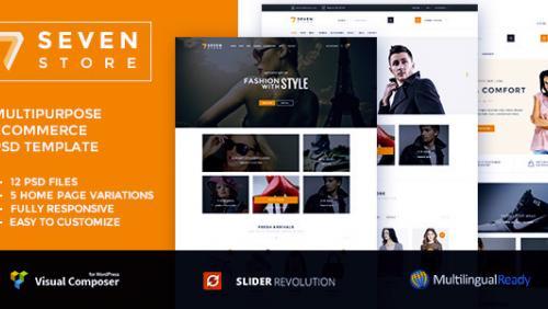 Seven Store - Ecommerce WordPress Theme