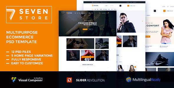 Seven Store - Ecommerce WordPress Theme
