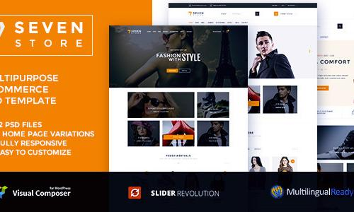 Seven Store - Ecommerce WordPress ...