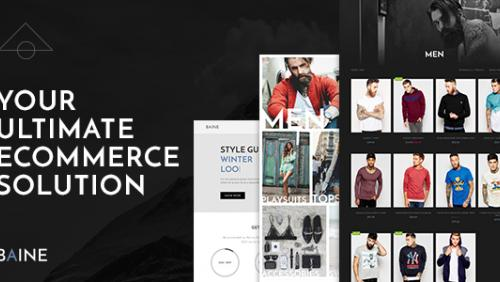 Baine | Responsive Multipurpose WooCommerce Theme