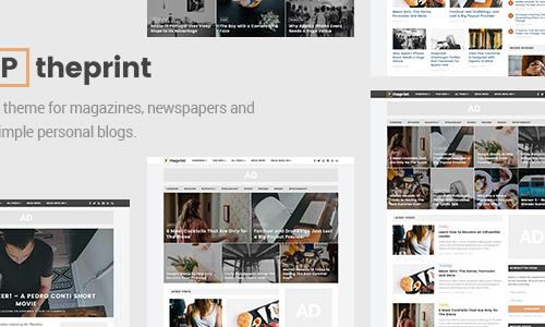 The Print - A Theme for Magazines ...