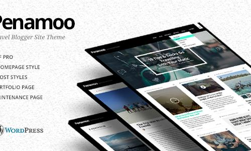 Penamoo - WordPress Travel Theme f...