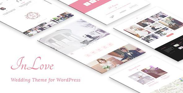 InLove - Wedding Theme for WordPress