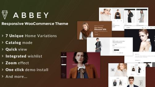 Abbey - Responsive WooCommerce Theme