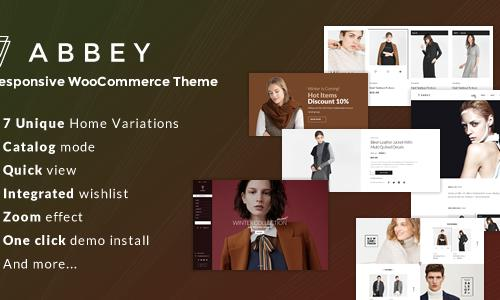 Abbey - Responsive WooCommerce The...