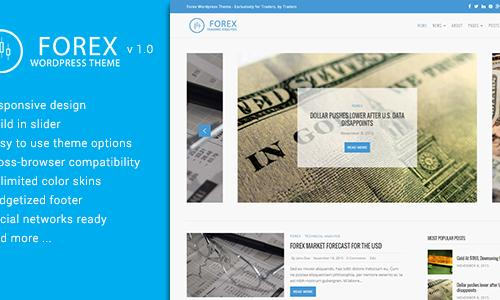 Forex WordPress Theme - Exclusivel...