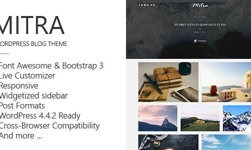 Mitra - A Clean & Responsive Blog ...