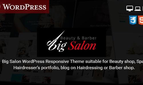 Big Salon - WordPress Theme for Ha...