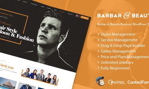 HairLoom | Responsive WordPress Th...