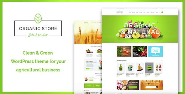Organic Store - Organic Food & Eco Products Theme