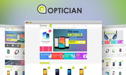 VG Optician - Responsive eCommerce...