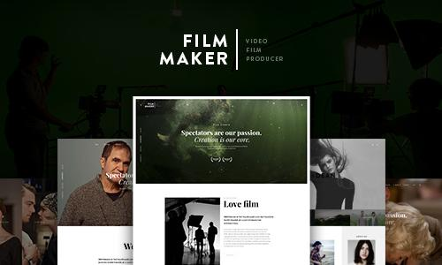FilmMaker WordPress Theme: Film St...