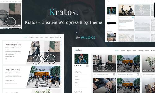 Kratos - Creative WordPress Blog T...