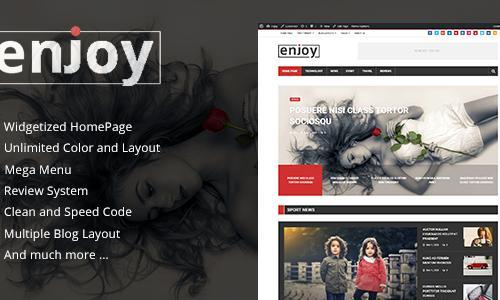 Enjoy - WordPress Magazine and Blo...
