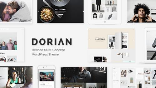 Dorian - Refined Multi-Concept WordPress Theme