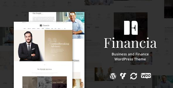 Financia - Business and Finance WordPress Theme