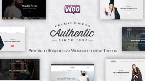 Authentic - Multipurpose Responsive WooCommerce WordPress Theme