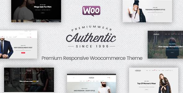 Authentic - Multipurpose Responsive WooCommerce WordPress Theme
