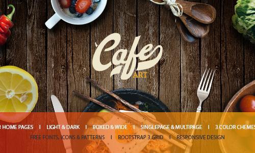 Cafe Art - Cafe & Restaurant WordP...