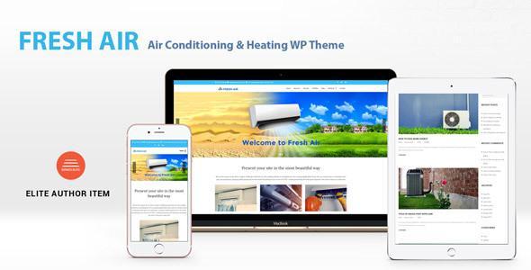 FreshAir - Air Conditioning & Heating WP Theme