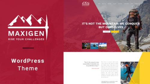 Maxigen - Hiking & Outdoor WordPress Theme