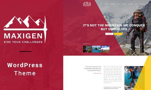 Maxigen - Hiking & Outdoor WordPre...
