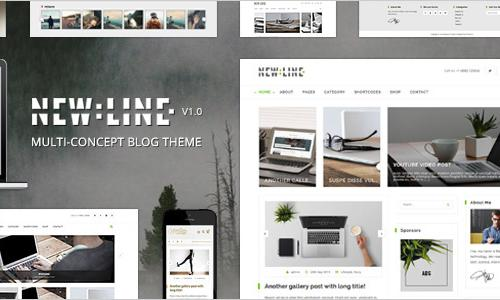 NewLine - Multi-Concept WordPress ...
