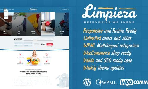 Limpieza Cleaning Company WordPres...