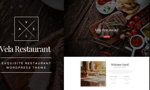 Vela - Exquisite Restaurant WordPr...