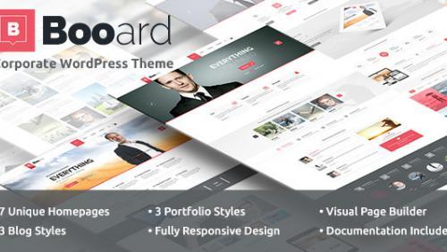 Booard - Corporate WordPress Theme