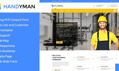 Handyman - Responsive WordPress Th...