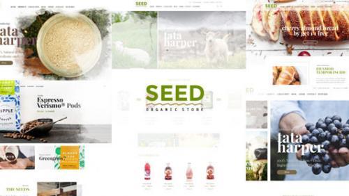 SEED - Organic Shop Farm Food Coffee Cosmetic Bio
