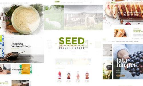 SEED - Organic Shop Farm Food Coff...