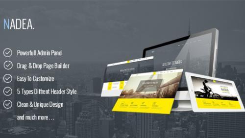 Nadea - Responsive Multi-Purpose WordPress Theme