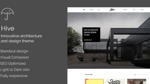Hive - Architecture/Creative Agency Theme