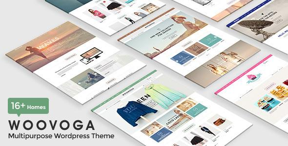 WooVoga - Multi-purpose WooCommerce WordPress Theme