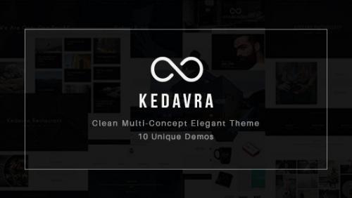 Kedavra - Clean Multi-Concept Elegant Theme