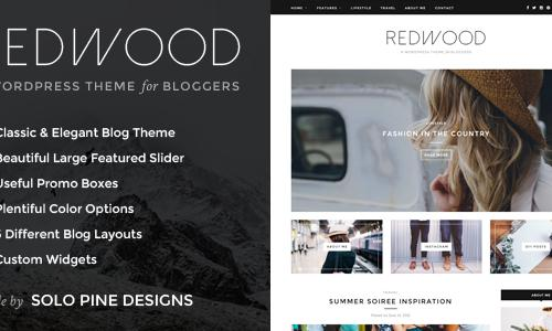 Redwood - A Responsive WordPress B...