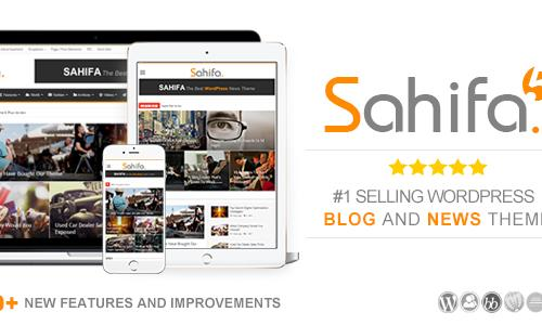 Sahifa - Responsive WordPress News...