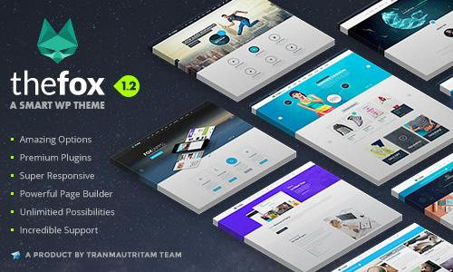 TheFox | Responsive Multi-Purpose ...