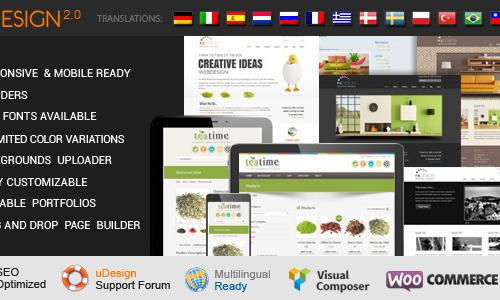 uDesign - Responsive WordPress The...