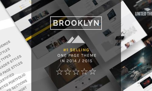 Brooklyn - Creative One Page Multi...