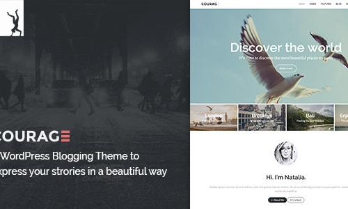 A Clean WordPress Blogging Theme