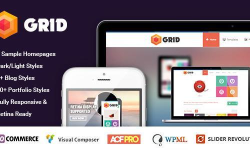 Grid – WordPress Responsive Agen...